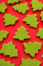 Christmas tree shapes Stock Photos