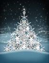Christmas Tree Snow Flakes.