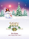Christmas Tree With Snowmen