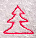 Christmas tree symbol Royalty Free Stock Photography