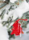 Christmas tree toys Royalty Free Stock Image
