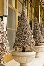 Christmas tree trees made from jewelry stones Stock Images