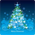 Christmas tree. Vector Illustration Stock Photo