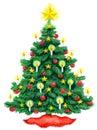 Christmas Tree Watercolor