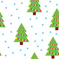 Christmas Trees Royalty Free Stock Image