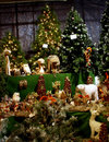 Christmas trees andornaments Stock Image