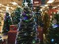 Christmas Trees Retail Sale Royalty Free Stock Photo