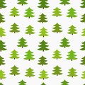 Christmas trees seamless Stock Photography