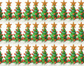 Christmas trees texture Royalty Free Stock Photo