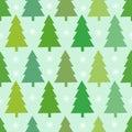 Christmas trees texture