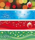 Christmas Tri - Panels Stock Photo