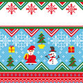 Christmas vector card Royalty Free Stock Photography