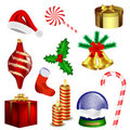 Christmas vector collection Royalty Free Stock Photography