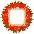 Christmas vector frame 12 Royalty Free Stock Images