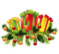 Christmas vector illustration Stock Images