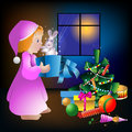 Christmas vector illustration Royalty Free Stock Image