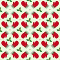 Christmas vector seamless pattern. Bright winter ornament 07 Royalty Free Stock Photo