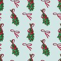 Christmas vector seamless pattern.