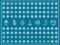 Christmas Vector Set Stock Photos