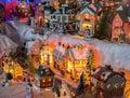 Christmas Village Royalty Free Stock Photo