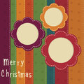 Christmas vintage background Stock Image