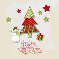 Christmas vintage background Royalty Free Stock Photo