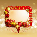 Christmas vintage bubble Royalty Free Stock Images
