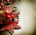 Christmas Vintage Greeting Card Royalty Free Stock Photography