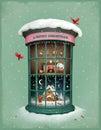 Christmas Vitrina