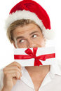 Christmas voucher Stock Photography