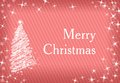 Christmas wallpaper merry pink colored background bitmap illustration Royalty Free Stock Photo