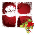 Christmas window. Royalty Free Stock Photos
