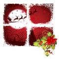 Christmas window. Royalty Free Stock Photos