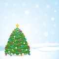 Christmas winter background Stock Image