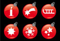Christmas and Winter Icons #4 Royalty Free Stock Image