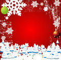 Christmas Winter Vector Backgr Stock Images