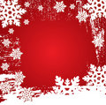 Christmas Winter Vector Backgr Stock Photos