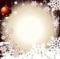 Christmas Winter Vector Backgr Royalty Free Stock Photo