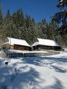 Vianočné zimné dediny