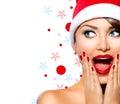 Stock Image Christmas Woman
