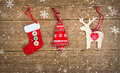 Christmas Wooden Decorations T...