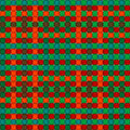 Christmas woven pattern seamless Stock Photo