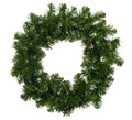 Christmas Wreath Stock Image