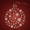 Christmasball Royalty Free Stock Photo