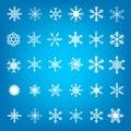 Christmass Snow Flakes