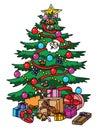 Christmass Tree Royalty Free Stock Photo