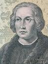 Christopher Columbus a portrait Royalty Free Stock Photo