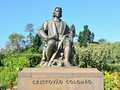 Christopher Columbus Statue Royalty Free Stock Photo