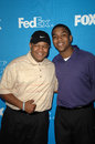 Christopher massey kyle massey and at the th annual naacp image awards celebrity golf challenge braemar country club tarazana ca Royalty Free Stock Photo