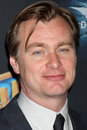 Christopher Nolan arrives at the Warner Brothers Photo Op at CinemaCom 2012 Royalty Free Stock Photos